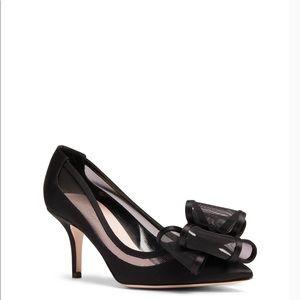 Kate Spade black jackie heels